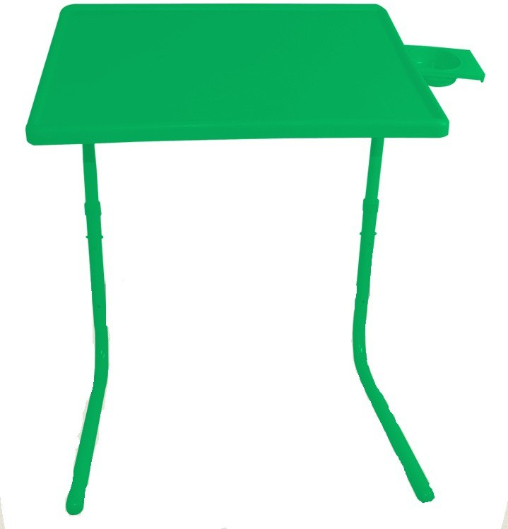View Tablemate Green Folding Adjustable Laptop Plastic Study Table(Finish Color - Green) Price Online(Tablemate)