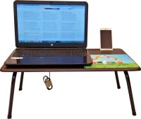 CSM Engineered Wood Portable Laptop Table(Finish Color - Wenge)
