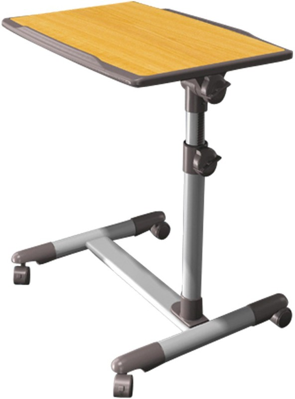Defianz DHAT Metal Portable Laptop Table(Finish Color - Yellow:Grey)