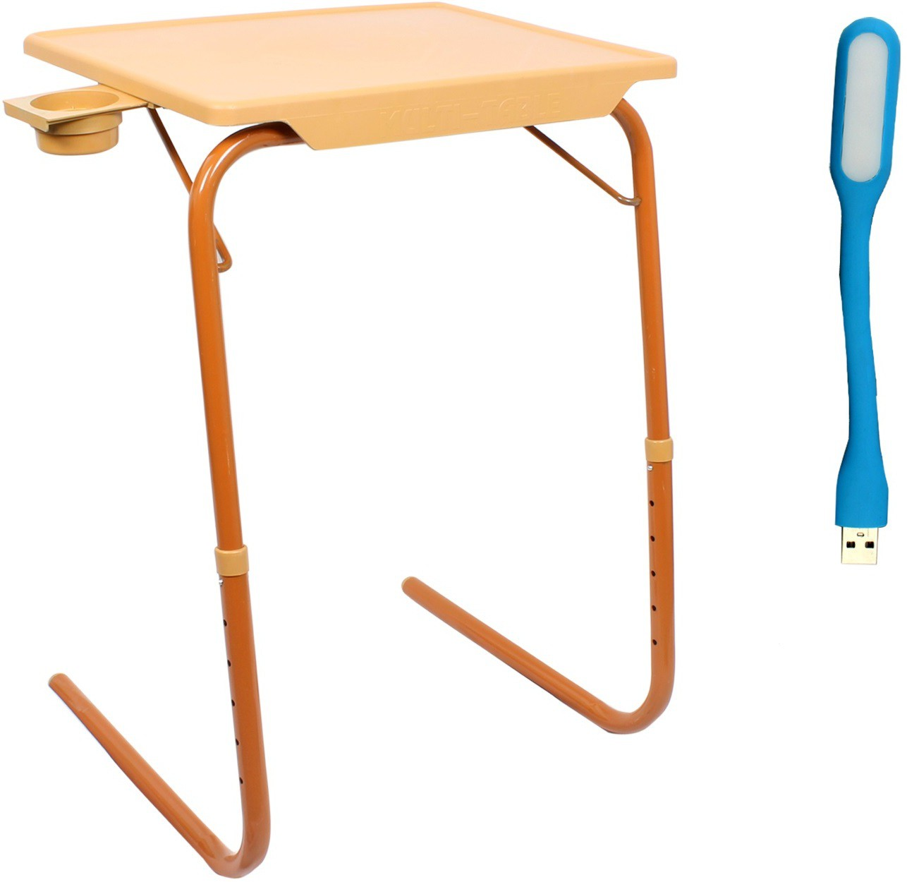 View NA Sandle Wood Plastic Portable Laptop Table(Finish Color - Sandle Wood) Furniture (NA)