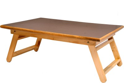 wood o plast Solid Wood Portable Laptop Table