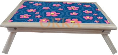 ORKA Printed Folding Solid Wood Portable Laptop Table(Finish Color - MultiColor)