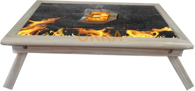 ORKA DHOOM 3 YRF Solid Wood Portable Laptop Table(Finish Color - MultiColor)