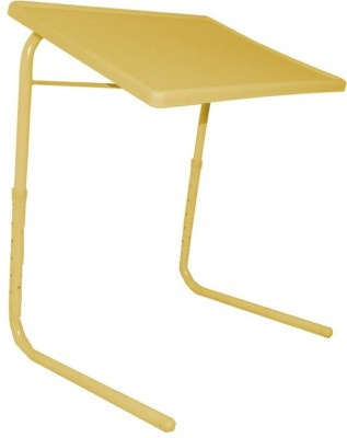 TABLE MATE Adjustable Portable Folding Laptop Study Yellow Changing Table
