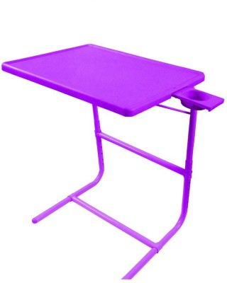 IBS PLATUNUM DOUBLE FOOTREST ADJUSTABLE FOLDING KIDS MATE HOME OFFICE READING WRITING PURPLE STUDY TABLEMATE WITH CUPHOLDER Plastic Portable Laptop Table