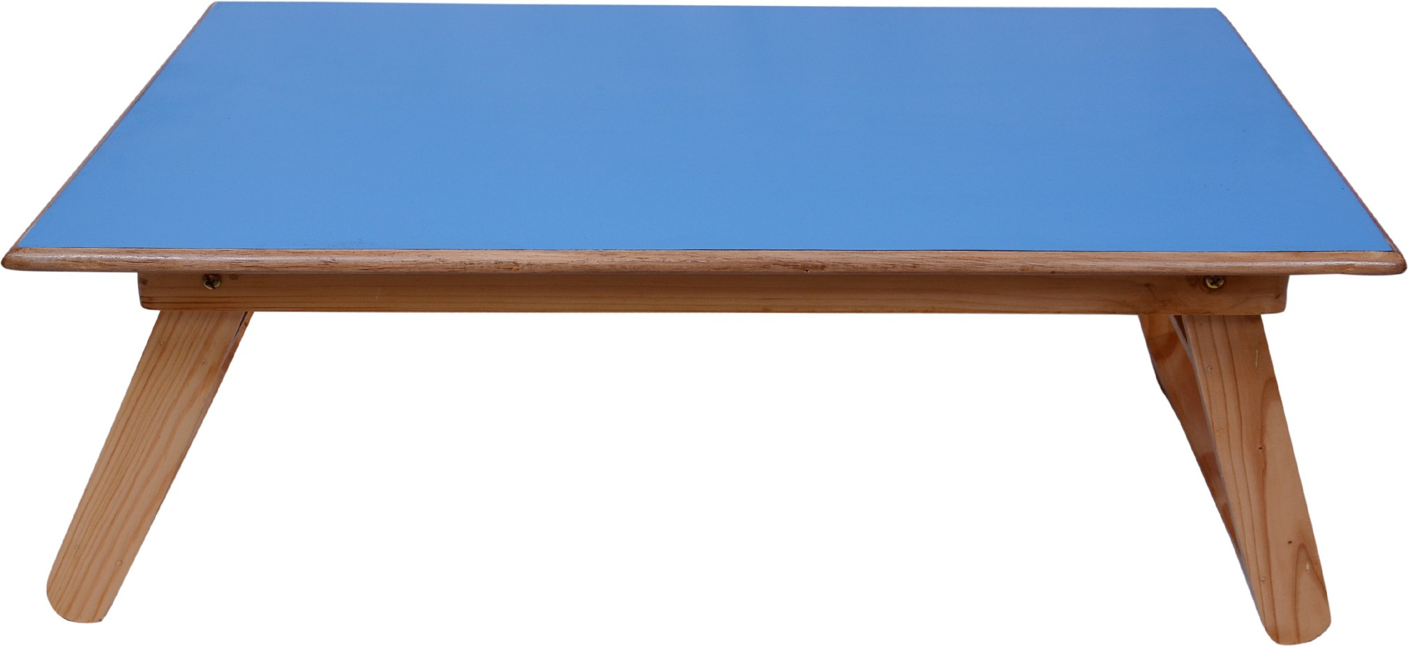 View Wood O Plast Engineered Wood Portable Laptop Table(Finish Color - Blue) Furniture (Wood O Plast)