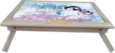 ORKA Fanaa YRF Solid Wood Portable Laptop Table(Finish Color - MultiColor)