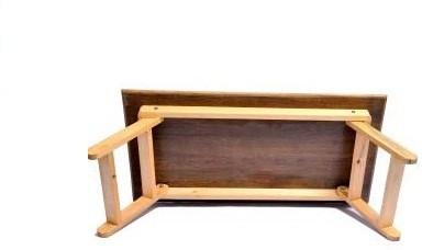 View Sreshta Engineered Wood Portable Laptop Table(Finish Color - Red) Furniture (Sreshta)