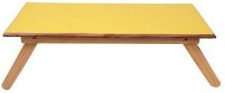View Sreshta Engineered Wood Portable Laptop Table(Finish Color - YELLOW) Furniture (Sreshta)