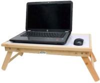 Ekta Solid Wood Portable Laptop Table(Finish Color - CREAM WHITE)