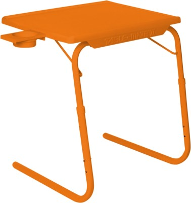IBS Multipurpose Adjustable Laptop Super Portable Study Tablemate Folding Dinner Kids Reading Writting Office Matte With Cupholder Mate Orange Changing Table