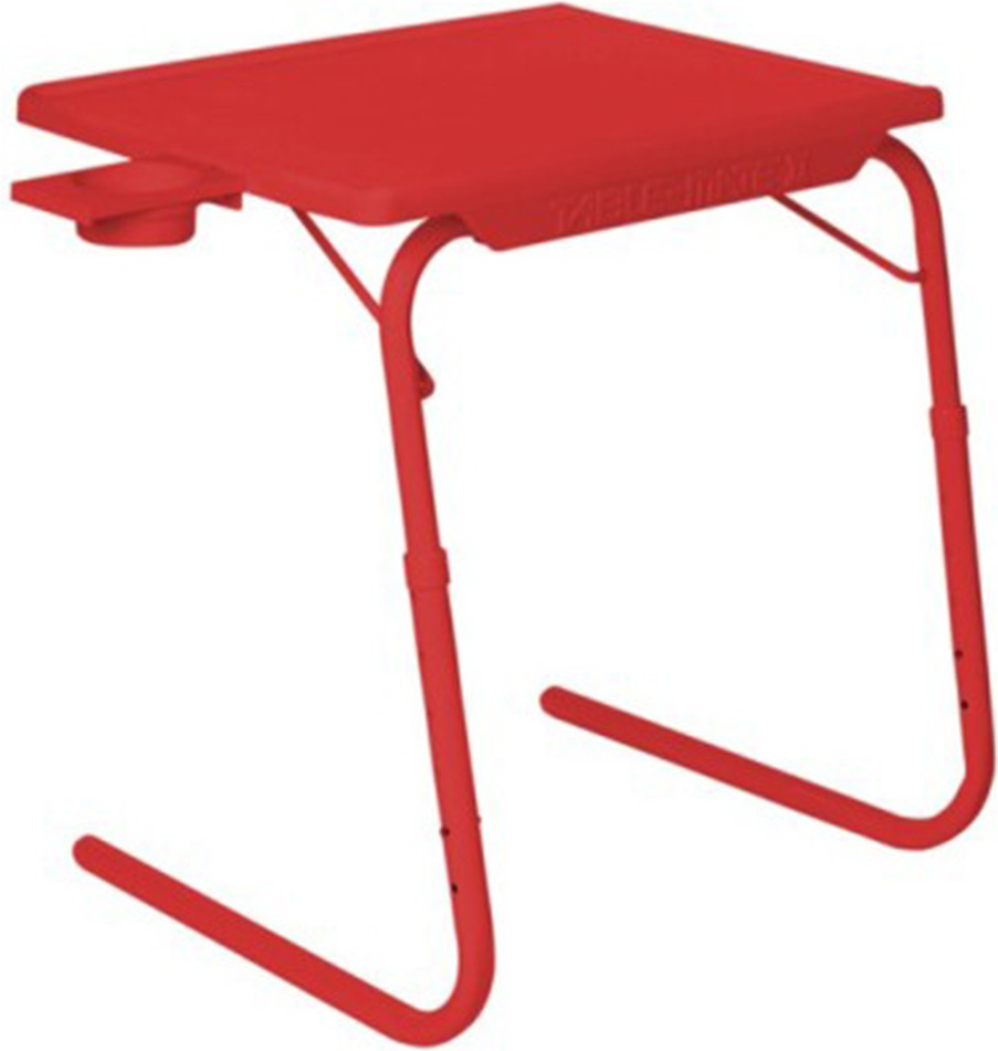 View eejee eejee Plastic Portable Laptop Table(Finish Color - Red) Furniture (eejee)