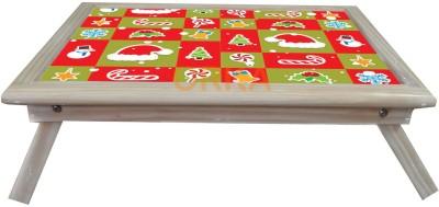 ORKA Santa Claus Solid Wood Portable Laptop Table