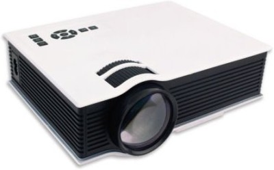Shrih Mini HD 800 lm LCD Corded & Cordless Portable Projector