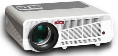 Play Pp-002 Portable Projector(White,Light Grey)