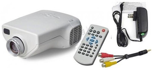 Zingalalaa lp 50 50 lm led corded portable projector price for Handheld projector price