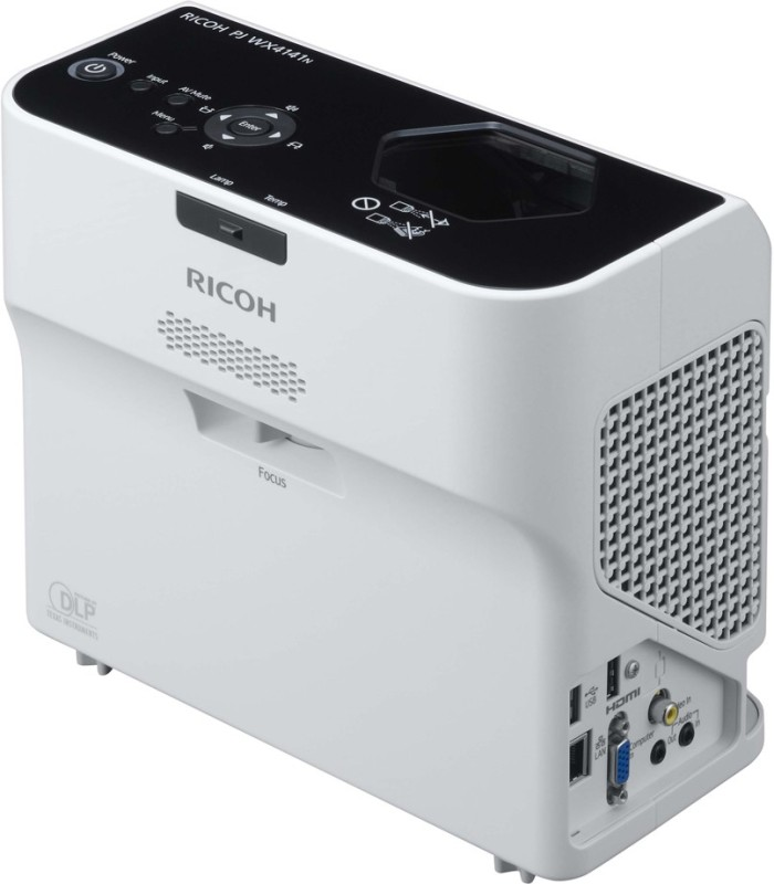 Ricoh 3300 lm DLP Corded Portable Projector(White)