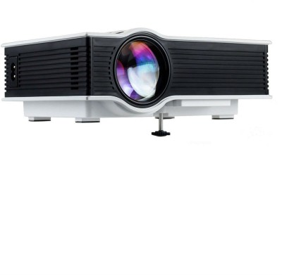 Shrih 1200 lm LED Corded & Cordless Portable Projector