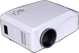 Crocon 1000 lm LED Corded Portable Projector