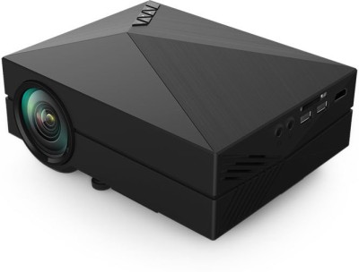 Optama GM60 1000 lm LED Corded Portable Projector(Black)