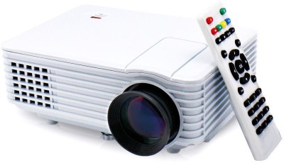 Microware RD-805 800 lm LED Corded Portable Projector(White)