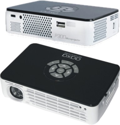 Aaxa LED 300 300 lm LED Corded Portable Projector