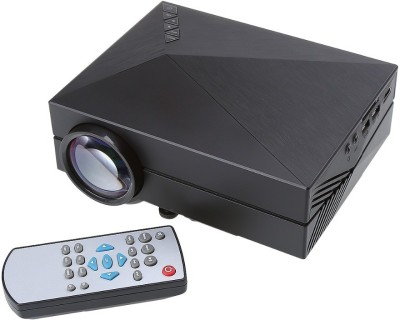 Microware MMPL-G60 1000 lm LED Corded Portable Projector(Black)