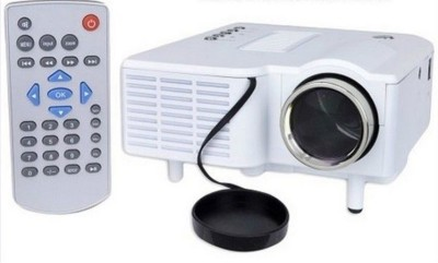 Unic Mini LED Projector With VGA UC28+ 48 lm LED Corded Portable Projector