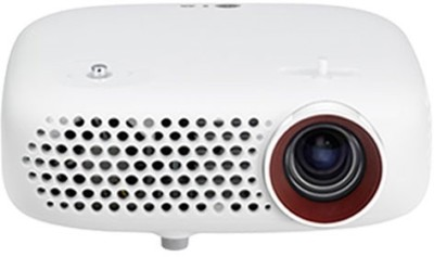 LG 600 lm LED Corded Portable Projector(White)