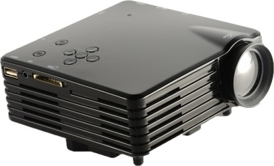 Optama gp7s 150 lm LED Corded Portable Projector(Black, White)
