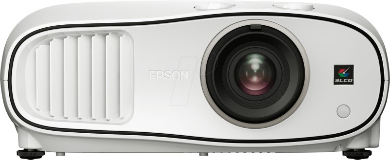 Epson 2500 lm LCD Corded Portable Projector(White)