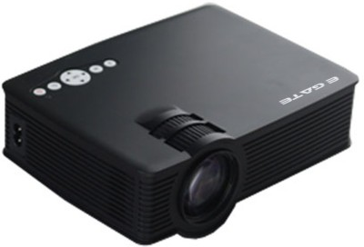 EGATE I9 1200 lm LED Corded Portable Projector(Black)
