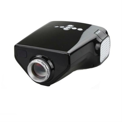 Shrih 50 lm LCD Corded & Cordless Portable Projector