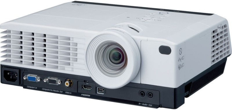 Ricoh 3000 lm DLP Corded Portable Projector(White)