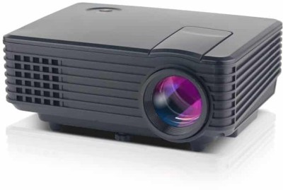 VibeX HDMI Home Theater Beamer Multimedia 800 lm LED Corded Portable Projector(Black)