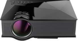VOX 1200 lm LED Corded Portable Projector(Black)