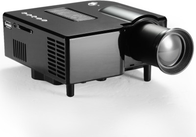 Optama 80 lm LED Corded Portable Projector(Black)