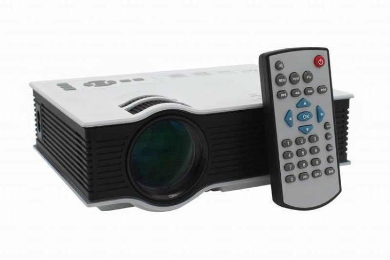 MDI MDI-UC40 Plus 800 lm LED Corded Portable Projector(White)