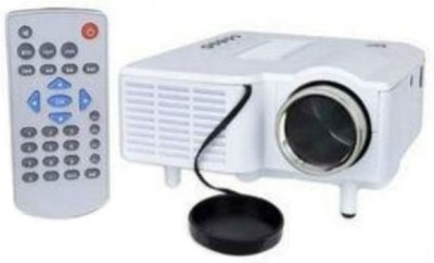 Shrih 48 lm LED Corded Portable Projector(White)