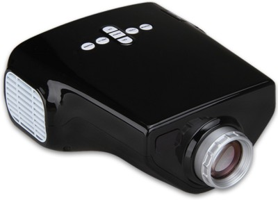 Shrih SH-5020 Multimedia 50 lm LED Corded Portable Projector(Black)