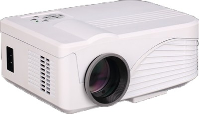 Optama X9 1000 lm LED Corded Portable Projector(White)