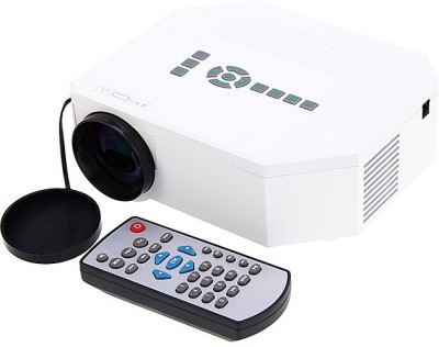 Microware LED-150LMNS 150 lm LED Corded Portable Projector(White)