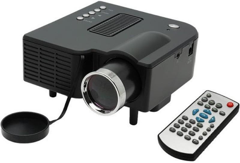 Zakk Zakk-UC28 48 lm LED Corded Portable Projector(Black)