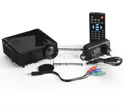 Wonder World 100 lm LED Corded Portable Projector