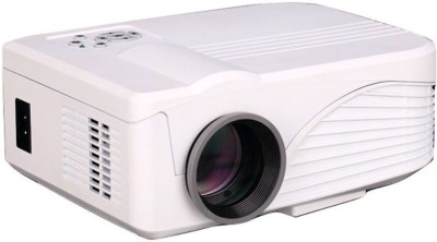 LEDPRO X9 1000 lm LCD Corded Portable Projector(White)