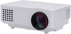 Voltegic ® RD-805 Mini HDMI Home Theater Beamer Multimedia Proyector 800 lm LED Corded Portable Projector(White)