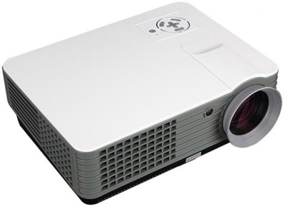 MDI RD-801A 2000 lm LED Corded Mobiles Portable Projector(White)