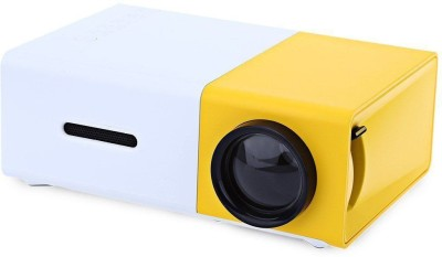 Techie & Trendy YG300 600 lm LCD Corded & Cordless Portable Projector