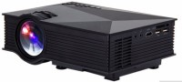 Unic UC 46,WIFI 1200 lm LED Corded Portable Projector(Black)