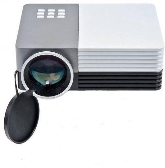 Microware 150 lm led corded portable projector price in for Handheld projector price